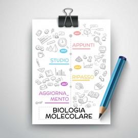 BIOLOGIA MOLECOLARE - Riassunto