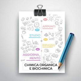 CHIMICA ORGANICA E BIOCHIMICA - Appunti