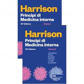 HARRISON PRINCIPI DI MEDICINA INTERNA 2 VOLUMI